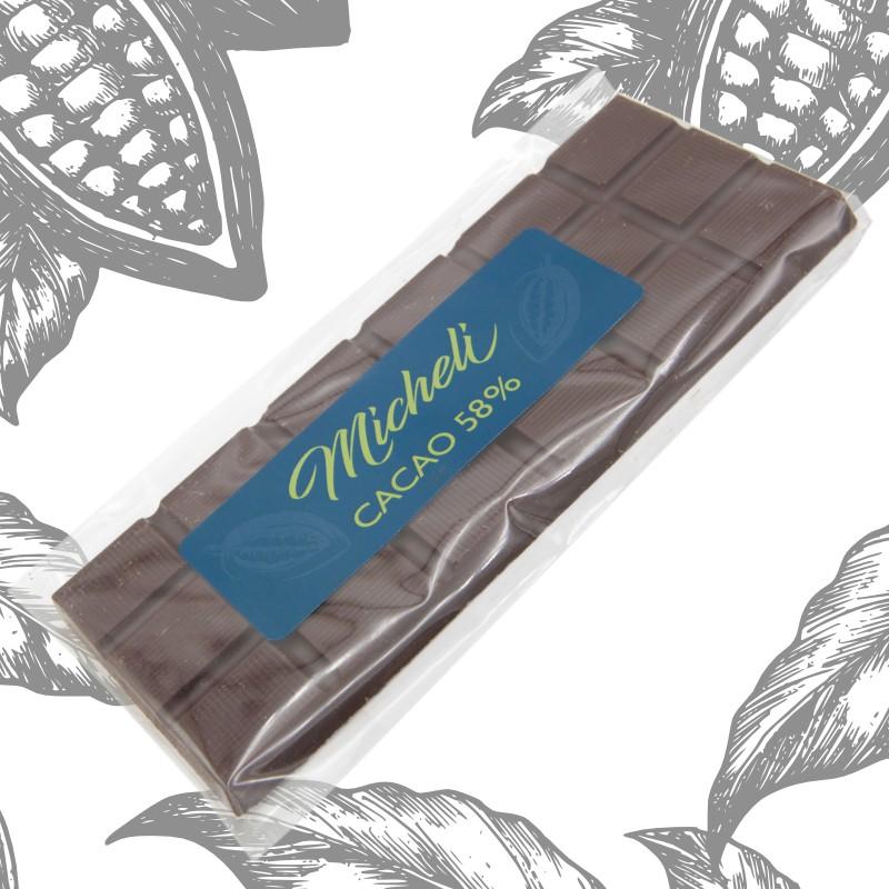 Plaque Chocolat 58%